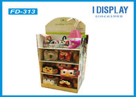 China Custom Retail Cardboard Display Stands For Plush Daily Necessities company