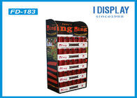 China Waterproof Cardboard Makeup Retail Display Stand With Reinforced Pad factory