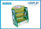 China Eco - Friendly Cardboard Pallet Retail Display Stands Single Sided For Baby Diapers company