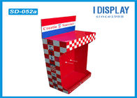 China Retail Shop Cardboard Peg Hook Display Rack / Pop Up Cardboard Display Stands company