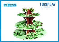 China Multi Level Retail Cardboard Advertising Display Stands With Tree Shaped Design factory