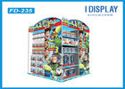 China Floor Four Tiered Display Shelves , Retail Cardboard Displays Stand For Cartoon Toys factory