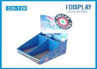 2 Tier Cardboard Counter Display , Retail Counter Display Rack  For LED Lights