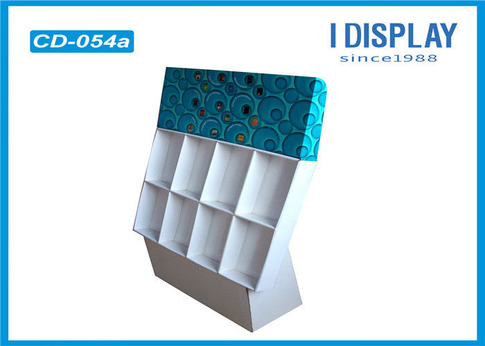 Burly Cardboard Counter Display Stands Greeting Card Display For LED Gorgeous Cardboard Card Display Stand