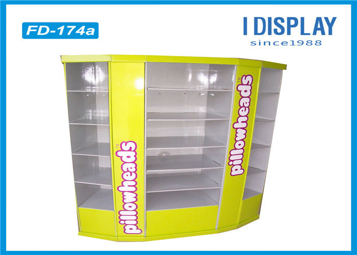 Portable Toy Cardboard Floor Displays / Cardboard Retail Display Stands