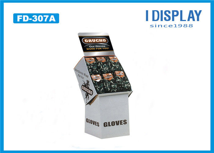 Retail Cardboard POP Displays 4C Offset Printing For Sport Equipments