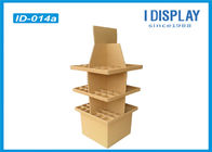 Advertising Floor Cardboard Retail Display Stands For Product Retail