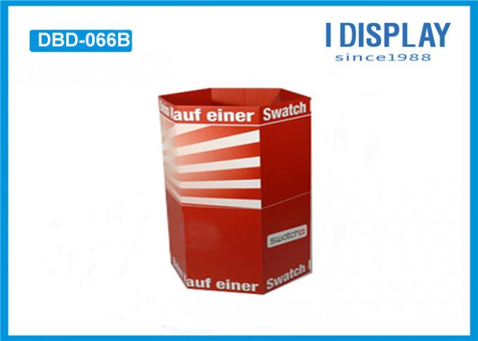 Cardboard Display Stands / Dump Bin Display For Sweet Oatmeal Products
