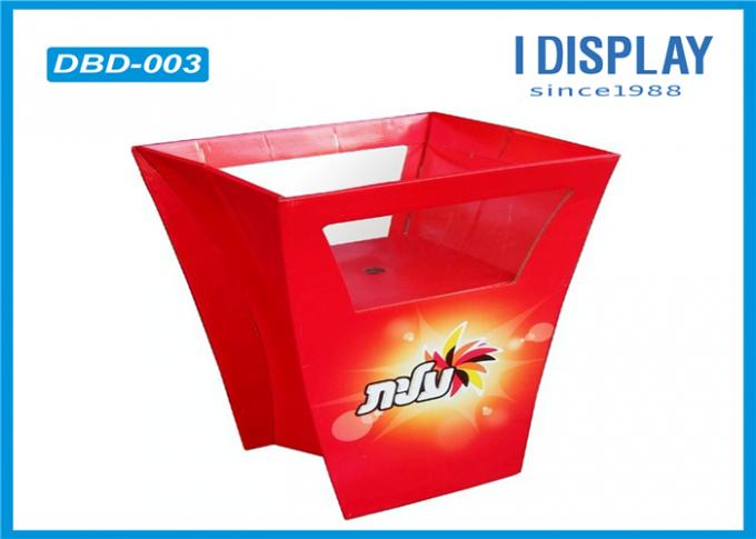 Innovative Gift Cardboard Recycling Bins / Paper Dump Bins For Retail
