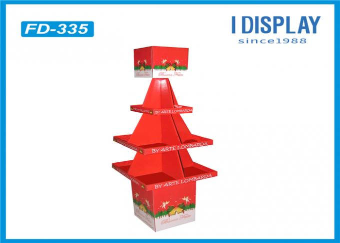 Exhibition Table Tree Cardboard Pallet Trays , Innovative Pallet Display Stands