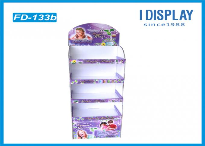 Animation POP Cardboard Retail Display Stands / Cardboard Display Shelves